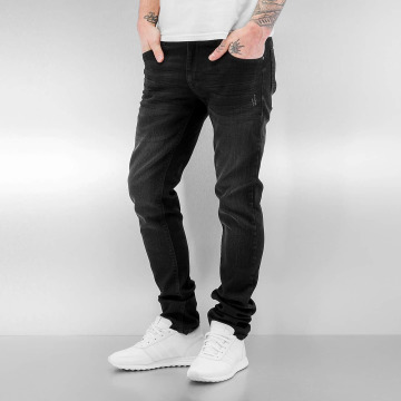 SHINE Original Straight Fit Jeans Tapered schwarz