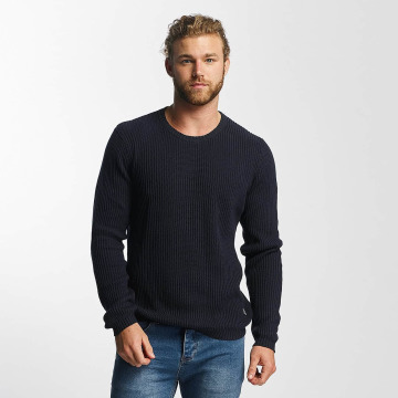 SHINE Original Sweat & Pull O-Neck Knit bleu