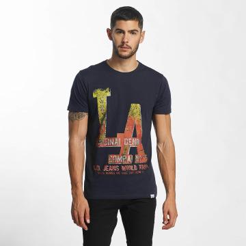 SHINE Original T-paidat Denim City Print sininen