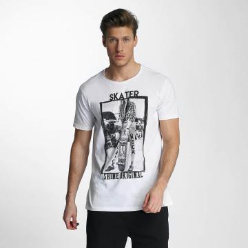 SHINE Original T-paidat Skater valkoinen