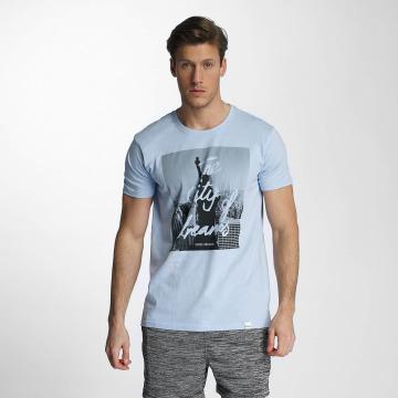 SHINE Original T-shirt City Lane blå