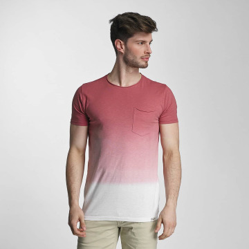 SHINE Original T-shirts Dip Dyed rosa