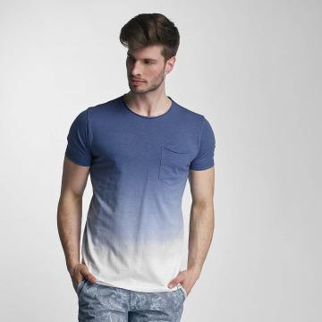 SHINE Original T-Shirty Dip Dyed niebieski