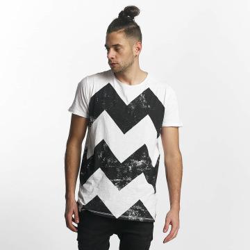 SHINE Original T-skjorter Original Zig Zag hvit