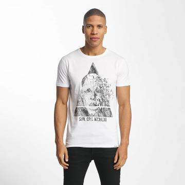 SHINE Original T-skjorter August Graphic hvit