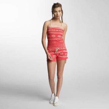Shisha  jumpsuit Hög Short rood