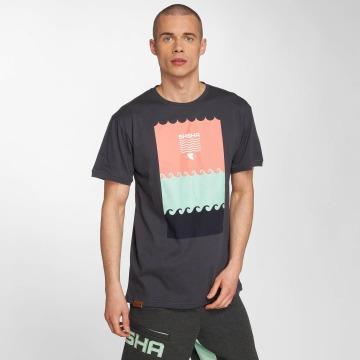 Shisha  T-Shirt Shisha Schwell T-Shirt grau