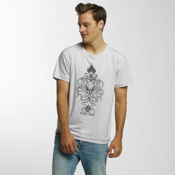 Shisha  T-Shirt Oktopussi gris
