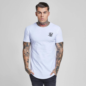 Sik Silk T-Shirt Gym blanc