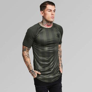Sik Silk T-shirt Shadow Stripe cachi