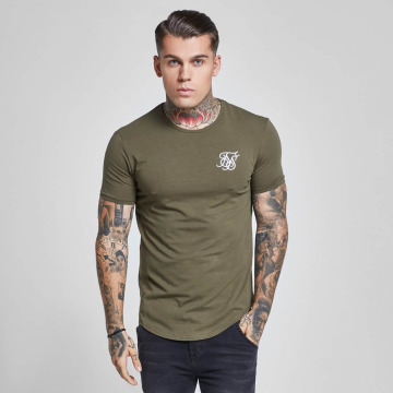 Sik Silk T-shirts Gym khaki
