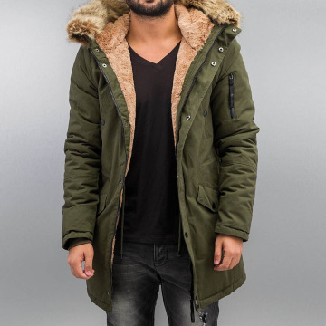 Sixth June Зимняя куртка Fur хаки