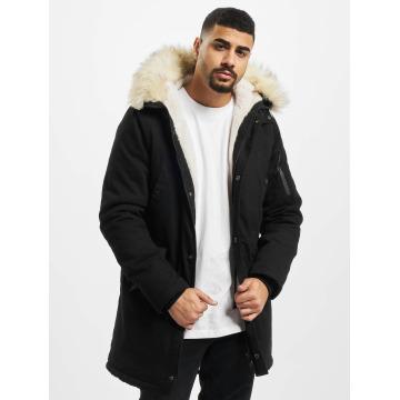 Sixth June Зимняя куртка Fur черный