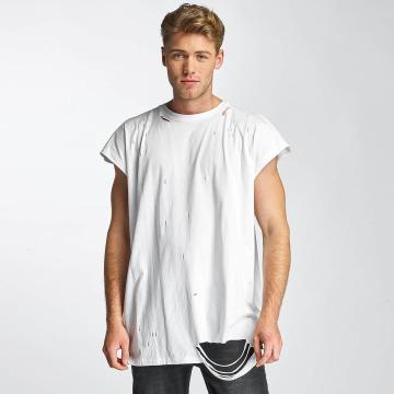 Sixth June Camiseta Destroyed Muscle blanco