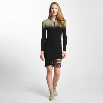 Sixth June Dress Destroyed Tight black