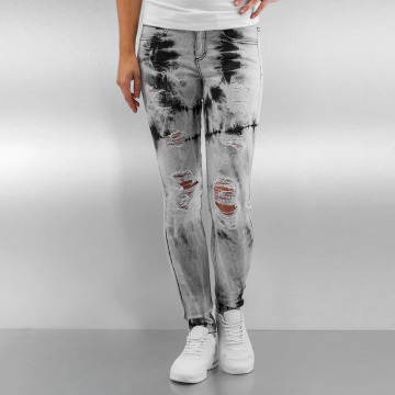 Sixth June Jean skinny Tie and Dye gris