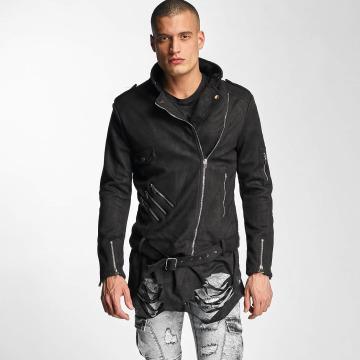 Sixth June Leather Jacket Perfecto black