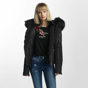 Sixth June Manteau hiver Winter Fur noir