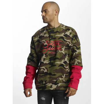 Sixth June Pullover Double Sleeve camouflage