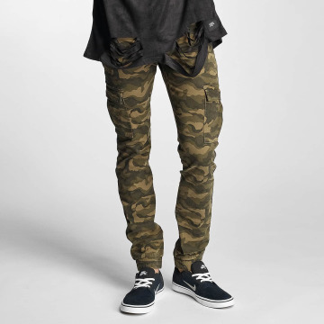 Sixth June Reisitaskuhousut Cargo Denim camouflage