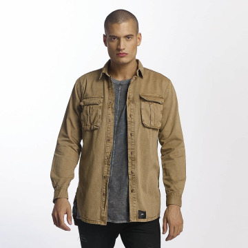Sixth June Shirt Cargo Pocket beige