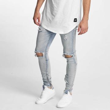 Sixth June Skinny Jeans Destroyed Washed blau