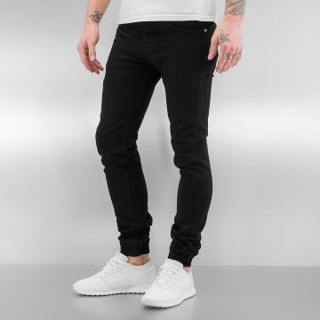 Sixth June Skinny Jeans Basic czarny