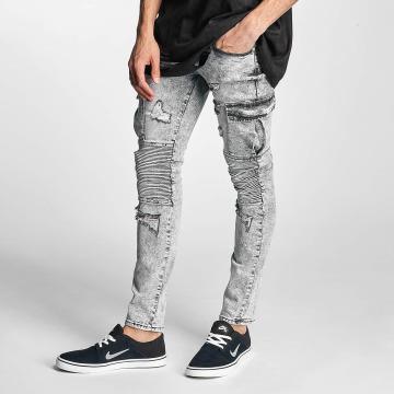 Sixth June Slim Fit Jeans Biker Cargo gray