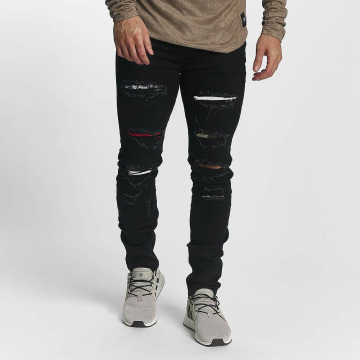 Sixth June Slim Fit Jeans basic Slimfit schwarz