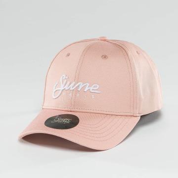 Sixth June Snapback Caps Sixth June Cap růžový