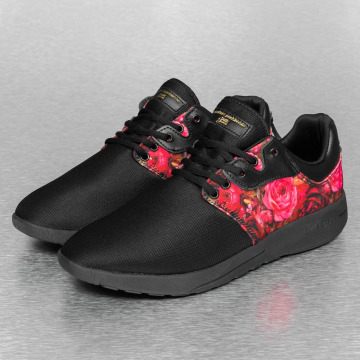 Sixth June sneaker Flower II zwart