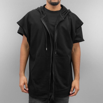 Sixth June Sweat capuche zippé Oversized Sleeveless noir