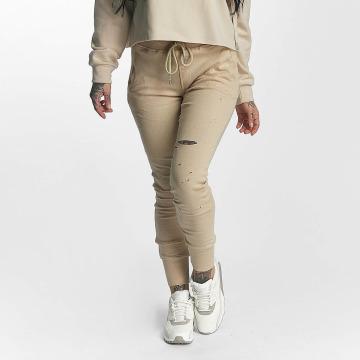 Sixth June Sweat Pant Distressed beige