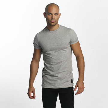 Sixth June T-Shirt Skinny Round Bottom grey