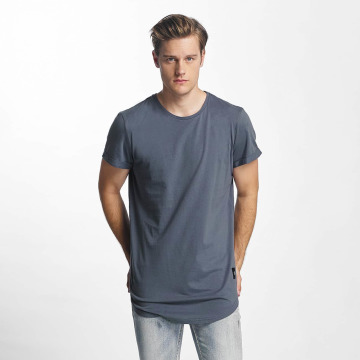 Sixth June T-shirt longoversize Rounded Bottom bleu