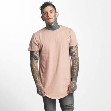 Sixth June T-shirt longoversize Rounded Bottom rose