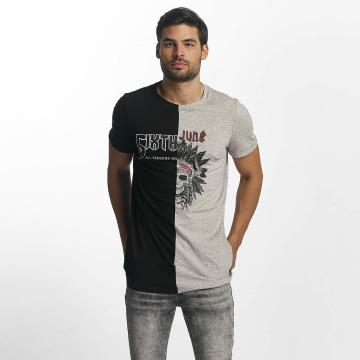 Sixth June T-Shirt Assymetric schwarz