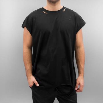 Sixth June t-shirt Destroyed Muscle zwart