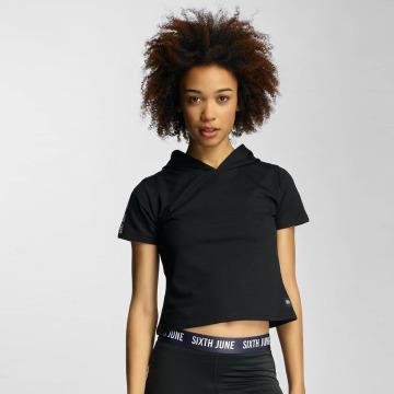 Sixth June t-shirt Hooded zwart