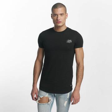 Sixth June T-skjorter Skinny Round Bottom svart