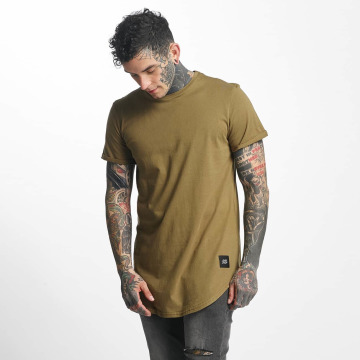 Sixth June Tall Tee Rounded Bottom khaki