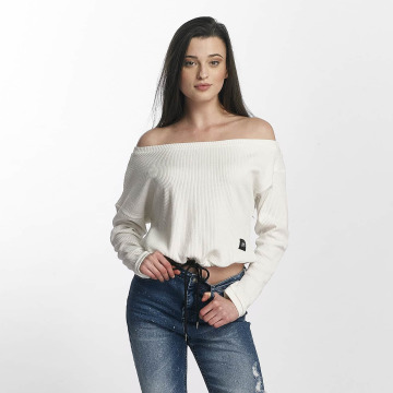 Sixth June trui Oversize Cold Shoulder wit
