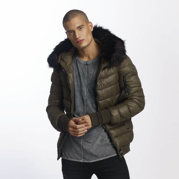 Sixth June Vinterjakke Regular Fit Puffa khaki