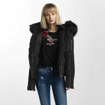 Sixth June Winter Jacket Winter Fur black