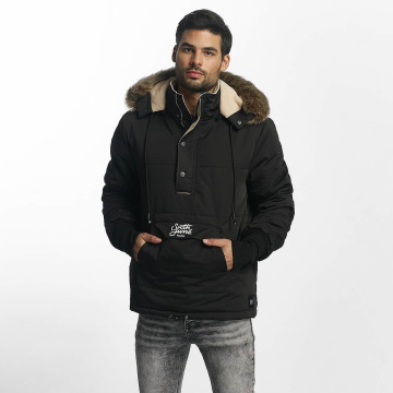 Sixth June Winter Jacket Classic Oversized Rain black