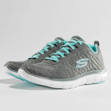 Skechers Baskets Flex Appeal 2.0 gris