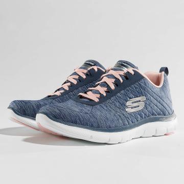 Skechers Sneaker Flex Appeal 2.0 blu