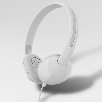 Skullcandy Cuffie musica Stim Mic 1 On Ear bianco