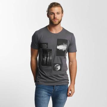 Sky Rebel T-Shirt Lean blau