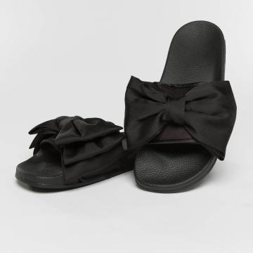 Slydes Sandaalit Peep musta